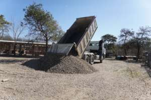 delivery of needed gravel