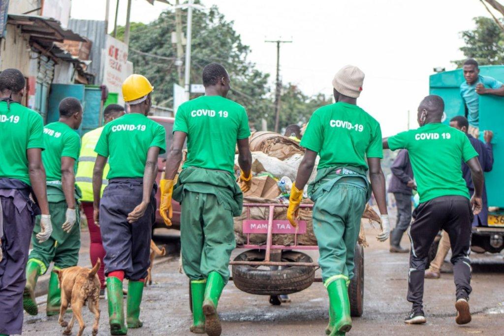 Reduce the spread of COVID-19 in Kibera slum.