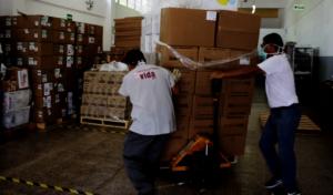 COVID-19 Pandemic in Peru - send medical supplies