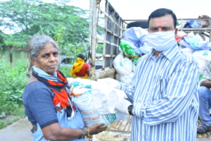 groceries kit donations for poor elderly people