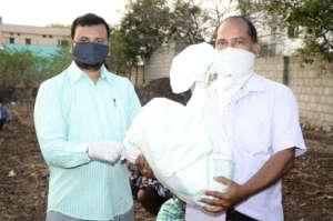 Covid19 coronavirus pandemic relief donation