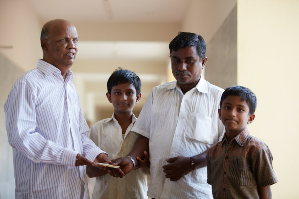 Support COVID Hit Visually Challenged Families