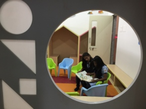 Our new school library is a hit