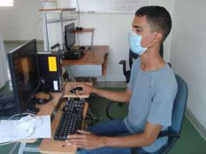 SAI office worker at headquarters.