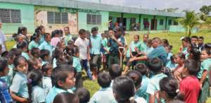 Engaging School Children in Tree Planting