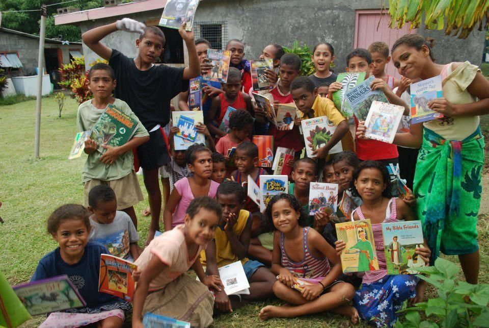 100,000 Books and Library For Children in Fiji