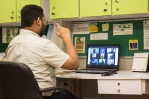 Online classes for trainees with disabilities