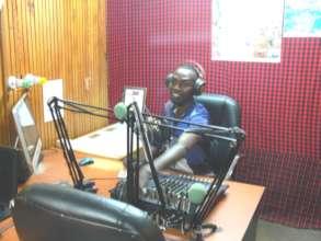 Community Radio Station - On-Air Studio
