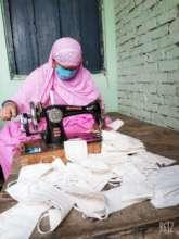 Homebased worker in Tilbegumpur