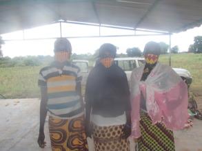Women wearing masks 2