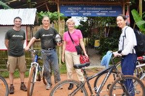 A Muddy Bike Ride Back