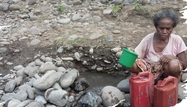 A water well to save unfortunate families