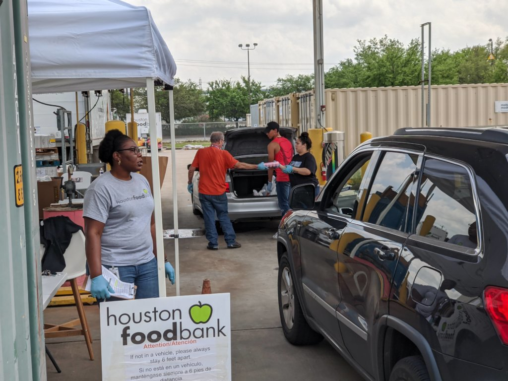 Houston Food Bank COVID-19 & Winter Storm Response