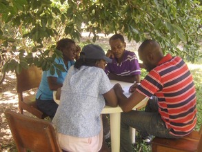 Grassroots partners at a training workshop