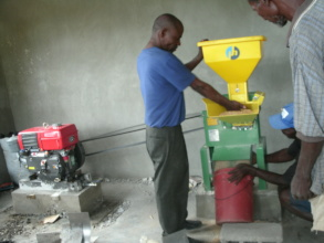 Milling grain for cereal