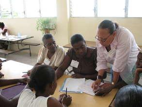 Lambi Fund led workshop