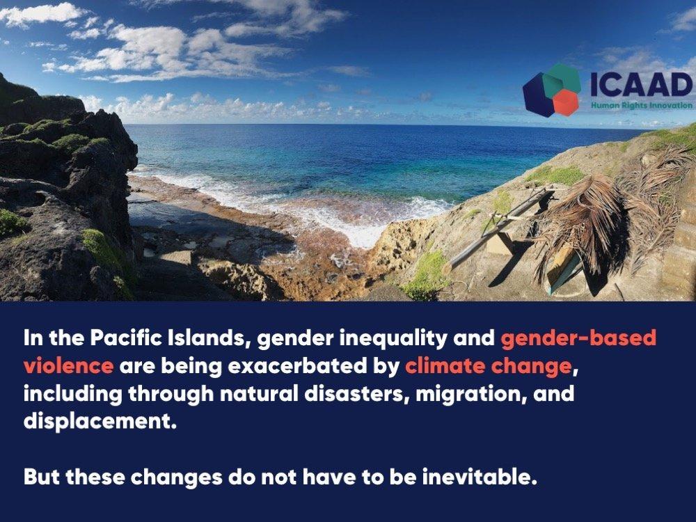 Climate + Gender Justice