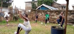 Staff Wellness Session in Kibera