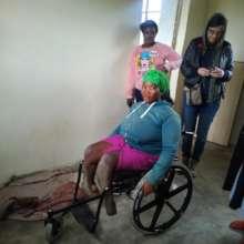 Thandeka gets a new wheelchair