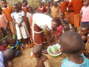 KENWA supporting kids affected by jiggers