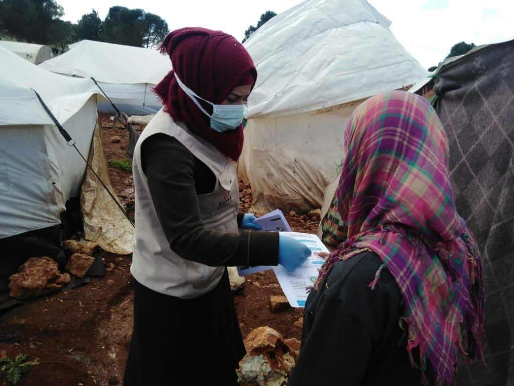 COVID19 infection prevention campaign in Syria