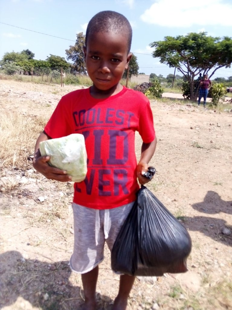 Corona Help:Food Parcels for Vulnerable children