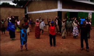 first food delivery to Cyaruzinge Village