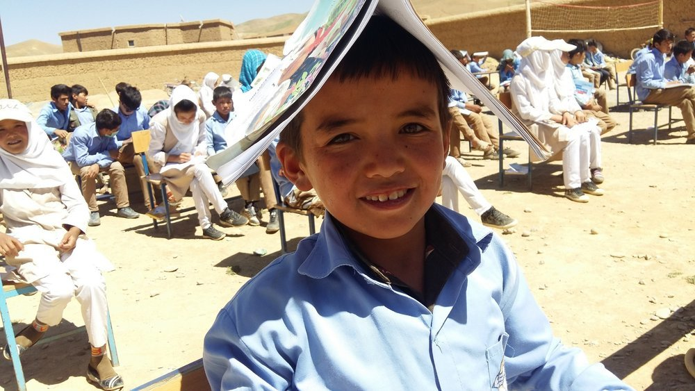 COVID-19 Aid for Education in Afghanistan
