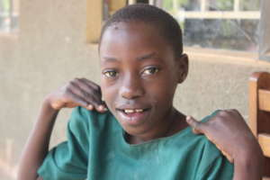 A child with learning challenges