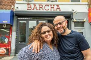 Gloribelle and Walid of Barcha in East Harlem