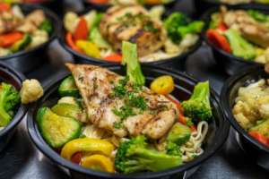 Nutritious restaurant-prepared meal