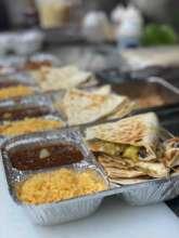 Meal prepared by partner La Adelita de Woodside