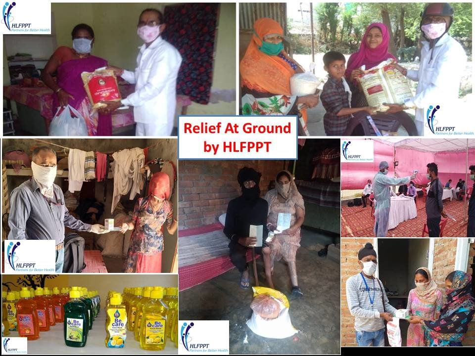 COVID-19 Crisis Relief & Support in India