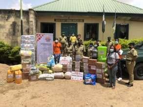 Providing food and sanitary supply for Inmates