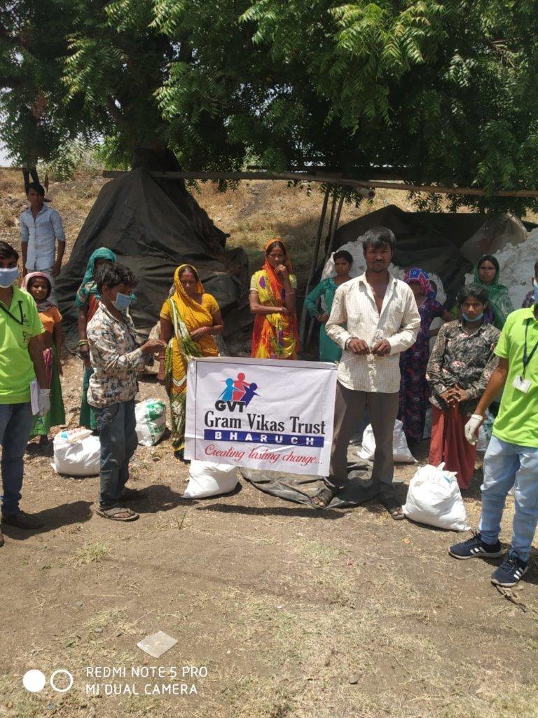 Coronavirus relief in Gujarat