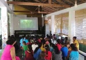 Movie day at Cotagala School