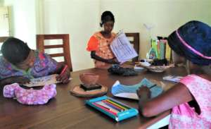 Morning activities at Anandapura Farm