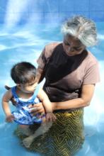 Yehansa with Pushpa