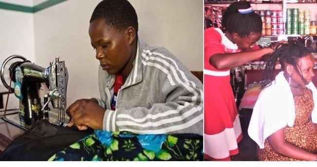 Train 600 Young women in Vocational skill - Uganda