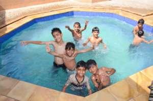 Pool Fun Time