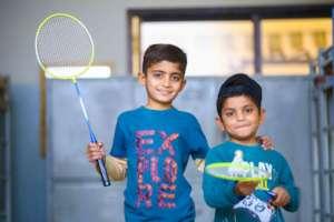 We love badminton, do you?