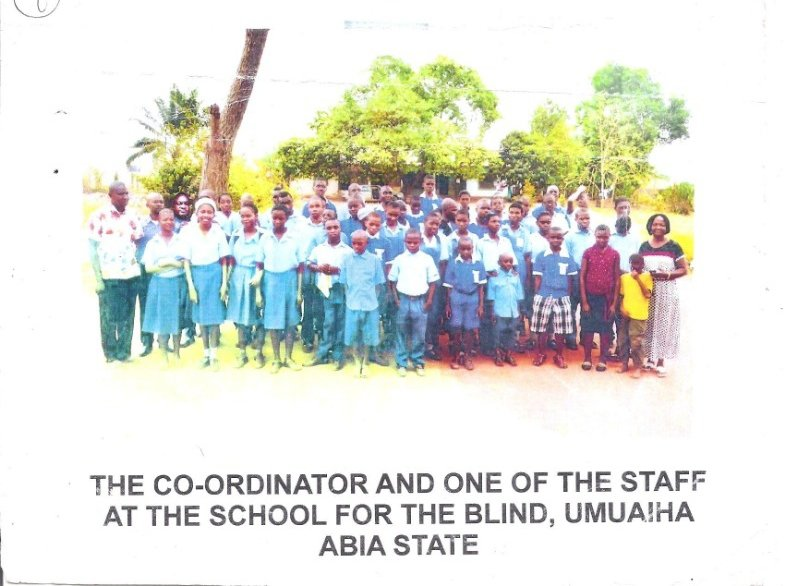 CAPACITY BUILDING FOR 140 BLIND PERSONS