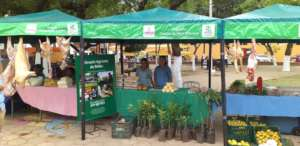 Belen Agricultural School selling products