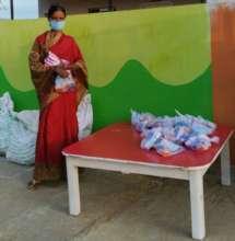Hygiene kit distribution