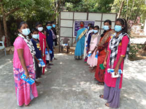 Sanitary pad distribution