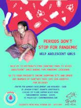 Donate sanitary pads