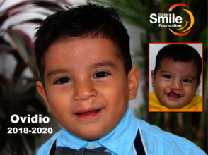 Thank you for giving Ovidio a healthy smile!