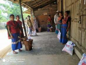Food Distribution for Indigenous people