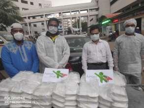 Ramadan Iftar Distribution to Front line warriors