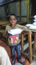 Cooked meals provided to street children for 7 day